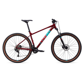 "Marin Bobcat Trail 4 29"", gloss crimson/teal/red"